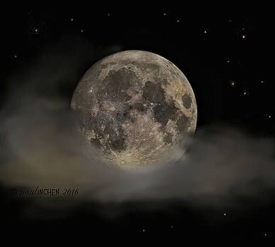 Supermoon 2016 by Elvira Gerecht
