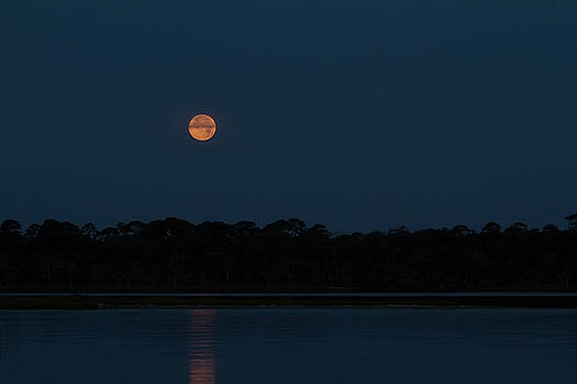 Paul Rebmann - Supermoon Dawn 2013