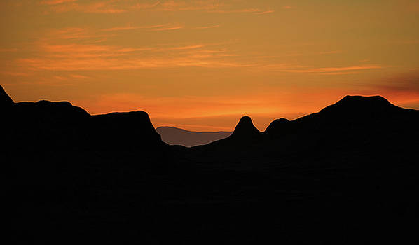 Superstition Mountains Sunset by Kevin Felts