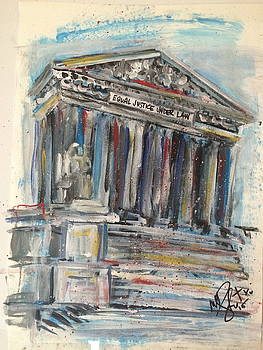 Supreme Court Building by Mary Gallagher-Stout