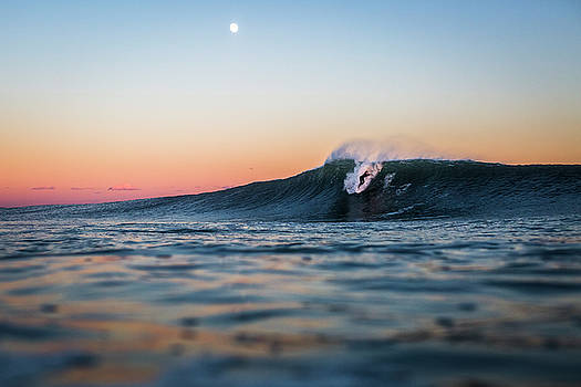 Surf And Moon by Ryan Moore