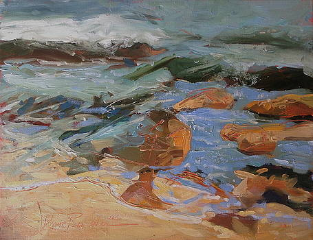 Surf at Hualalai by Diane Renchler