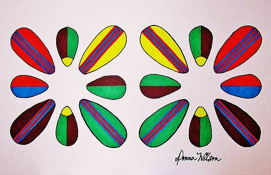 Surfboard Flowers Art by Donna Wilson