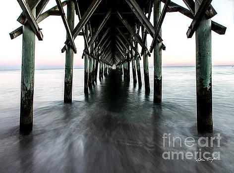 Surf City Pier - Topsail Island by Matthew Turlington