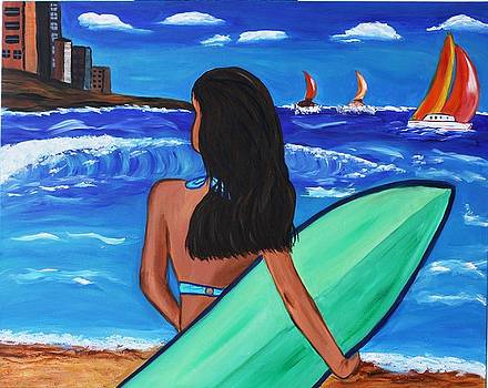 Surf City   by Victoria  Johns