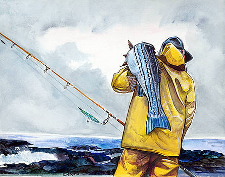 Surf Fishing by Dave Olsen