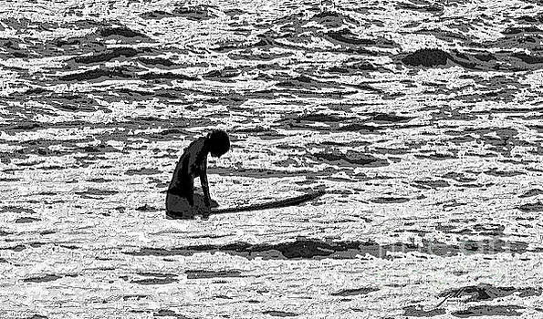 Surf Meditation by Suzette Kallen