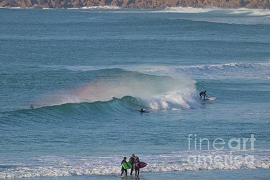 Surf Rainbow by Terri Waters