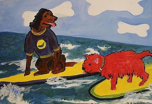 Surfer Dudes by Nancy Henkel Schulte