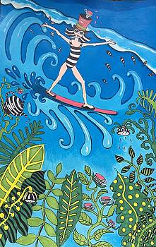 Surfer Girl by Alycia Vreeland