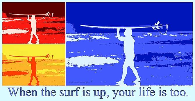 Surfer - Surf's Up by Kip Krause