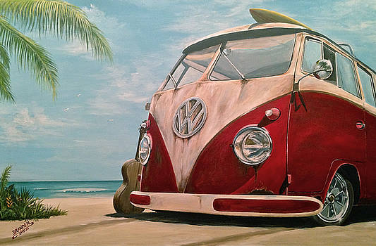 Surfin' by Branden Hochstetler