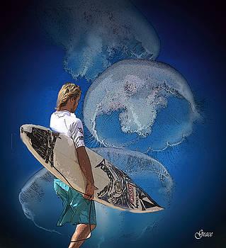 Surfin  by Julie Grace