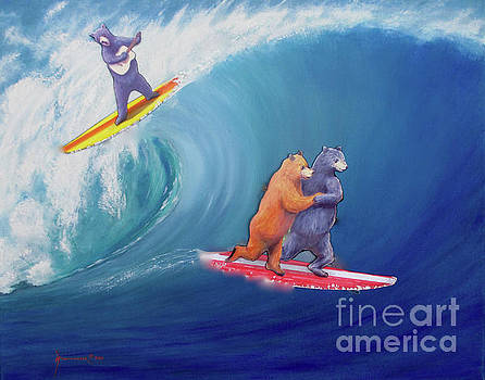 Surfing Bears by Jerome Stumphauzer