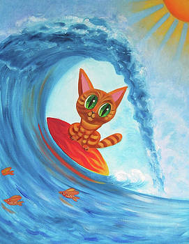 Surfing Brownie by Svetlana Neal