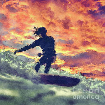 Surfing by Phil Perkins