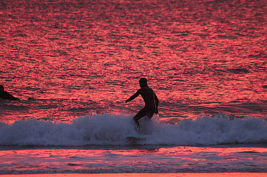 Surfing Red Seas by Robert Banach