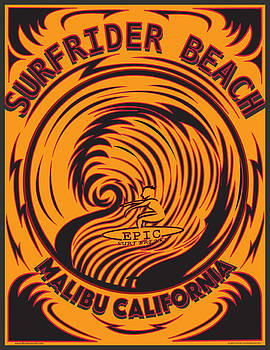 Surfrider Beach Malibu California by Larry Butterworth
