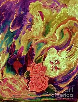 Surge III Abstract by Diana Dearen