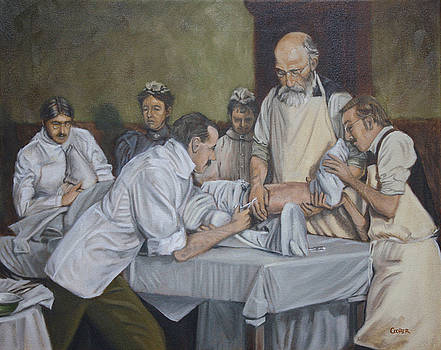 Surgery 1900 by Todd Cooper