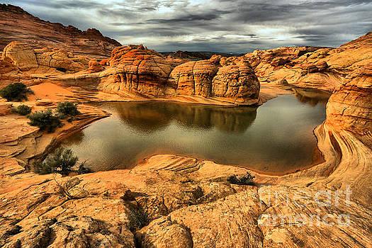 Adam Jewell - Surreal Desert Storm Landscape
