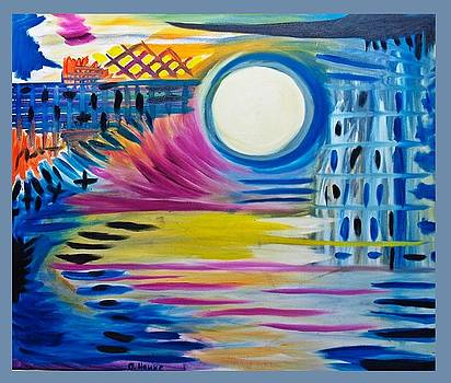 Surreal Moon by Christopher Hawke