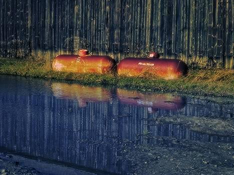 Dee Flouton - Surreal Propane Tanks