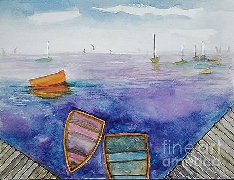 Surreal Sail by Romani Berlekov