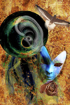 Surrealist Composition 1 by Lisa Yount