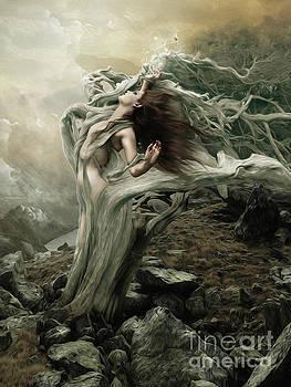 Surrender to the destination of the wind by Babette Van den Berg