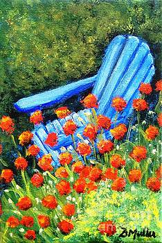 Surrounded by Poppies by Donna Muller
