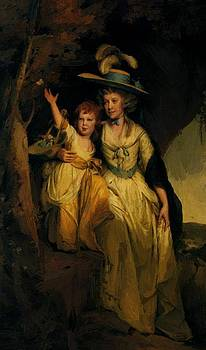 Wright Joseph - Susannah Hurt With Her Daughter Mary Anne