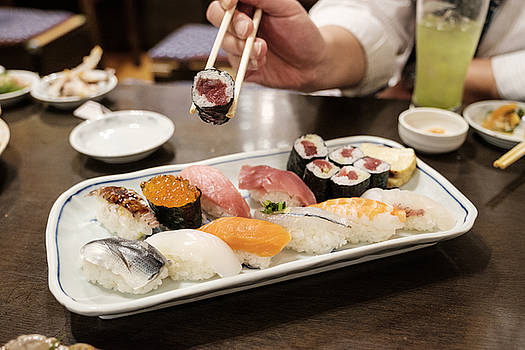 Sushi Plate by Rich Legg