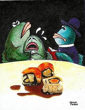 Sushi Tragedy by James Parker