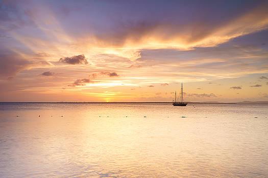 Ellie Teramoto - Sunset In Pastel Colors - Bonaire, Dutch Caribbean