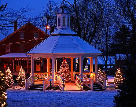 Sutton Massachusetts Gazebo by Bob See