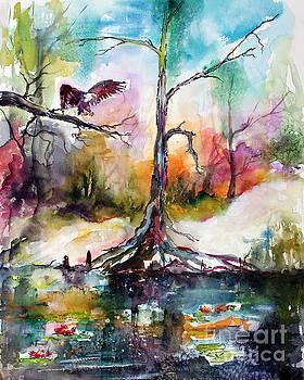 Ginette Callaway - Suwanee River Black Water Eagle Landing