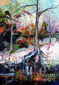 Ginette Callaway - Suwanee River Black Waters Modern Art