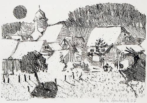 Martin Stankewitz - Swabian village, rural summer landscape