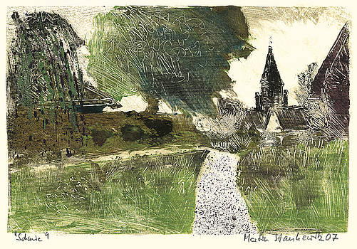 Martin Stankewitz - swabian village,rural landscape