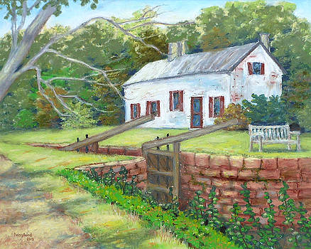 Swains Lock and Lockhouse C and O Canal MD by Nancy Heindl