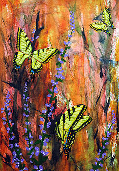 Swallowtail Butterflies by Vallee Johnson