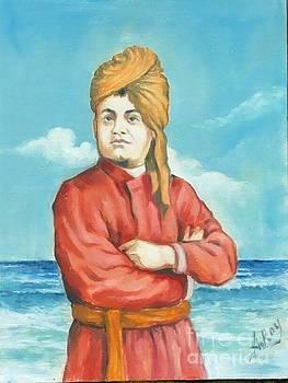 swami Vivakanandan by Anup Roy