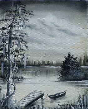 Swamp boat by Gene Gregory