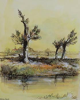 Swamp Trees by Victoria Stavish