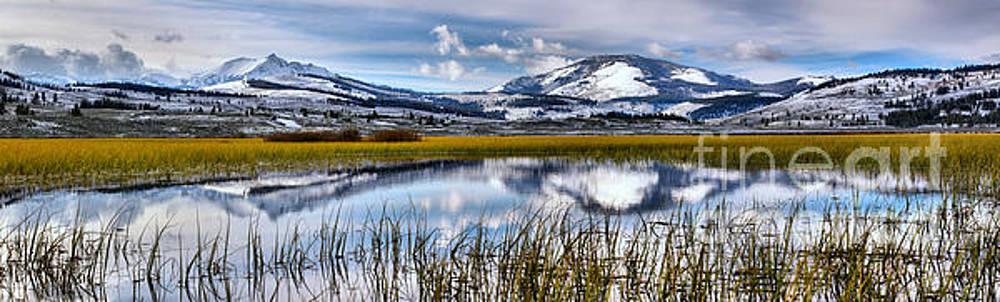 Adam Jewell - Swan Lake Flats Grasslands Reflections