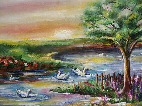 Swan Lake by Khatuna Buzzell
