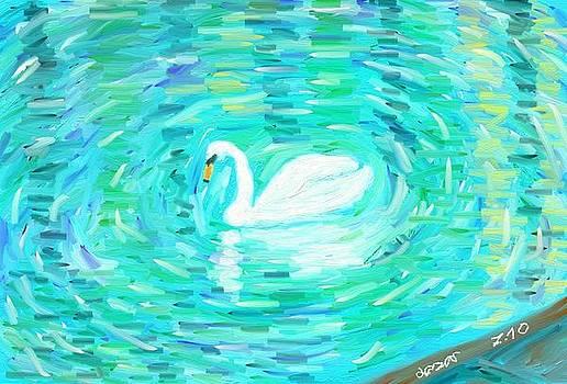 Swan by Lazar Caran