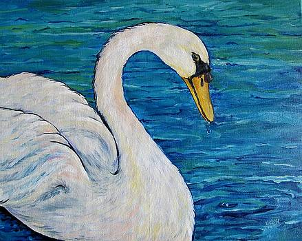 Swan Pond by Pam Utton