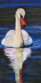 Mary Jo Zorad - Swan wildlife art